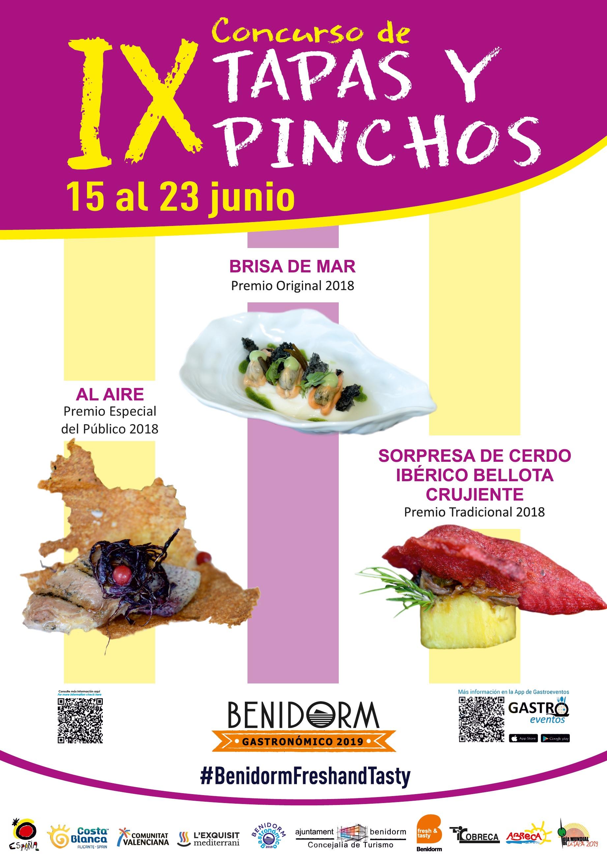 IX Concurso de Tapas y Pinchos en Benidorm