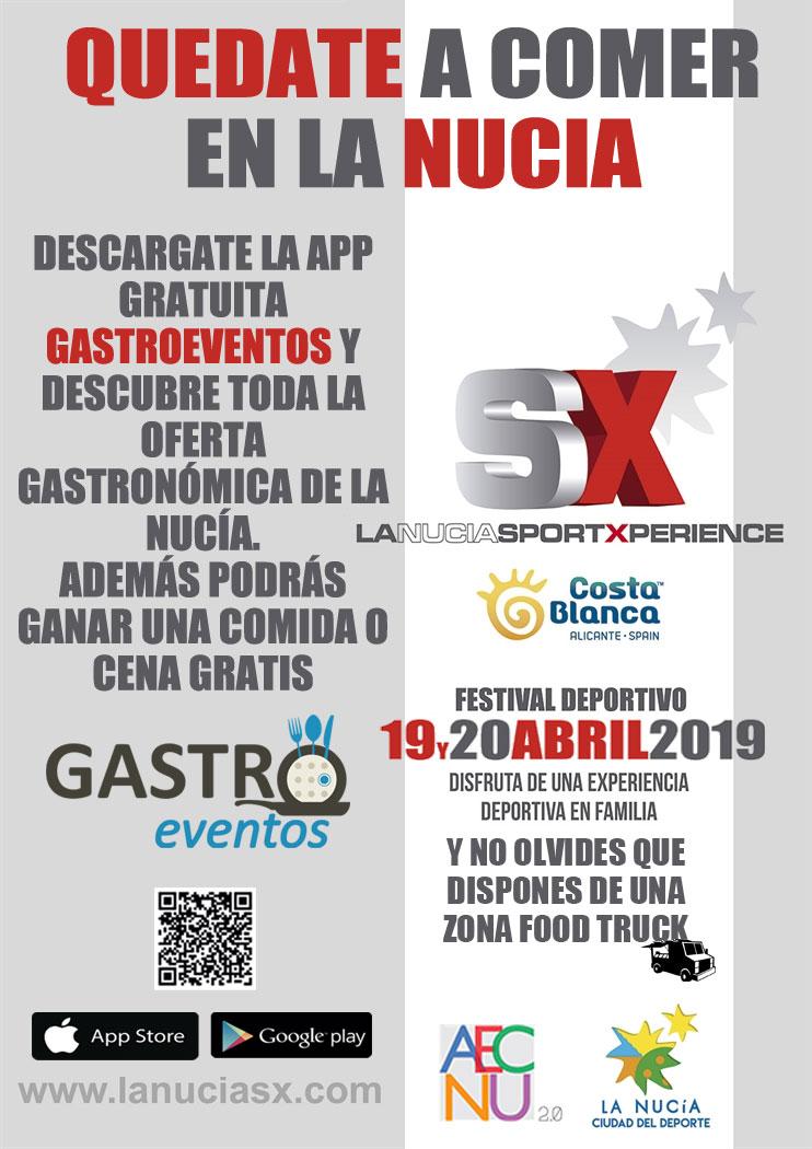 Jornadas Quédate a comer en La Nucía - Sport Xperience