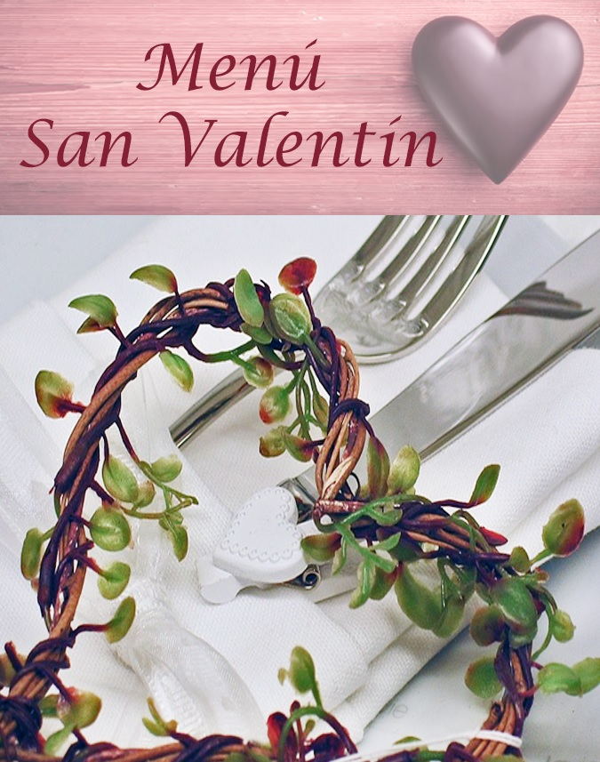 Menús San Valentín