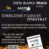 Sorteo de un Ipad en la Costa Blanca Trails en Finestrat
